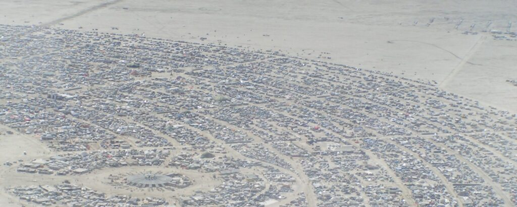 """The """"Burning Man"""" Private Networks"""